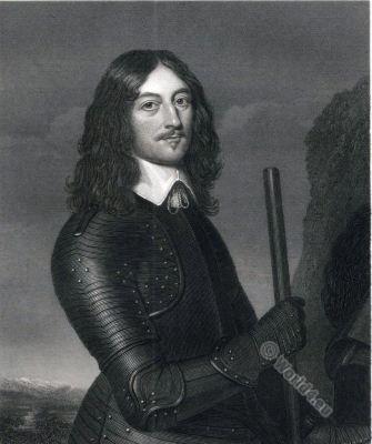 James Graham Marquess of Montrose. England civil war. Nobility. 17th century.