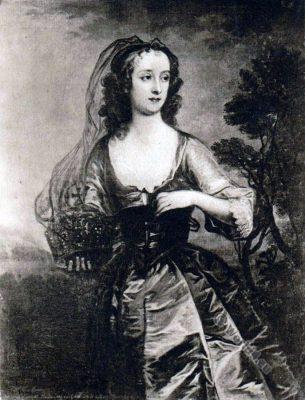 Jane Lane, Lady Fisher. Engand 17th century. Charles II.
