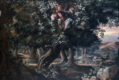 Royal Oak. Charles II. Boscobel. England history. Baroque era.