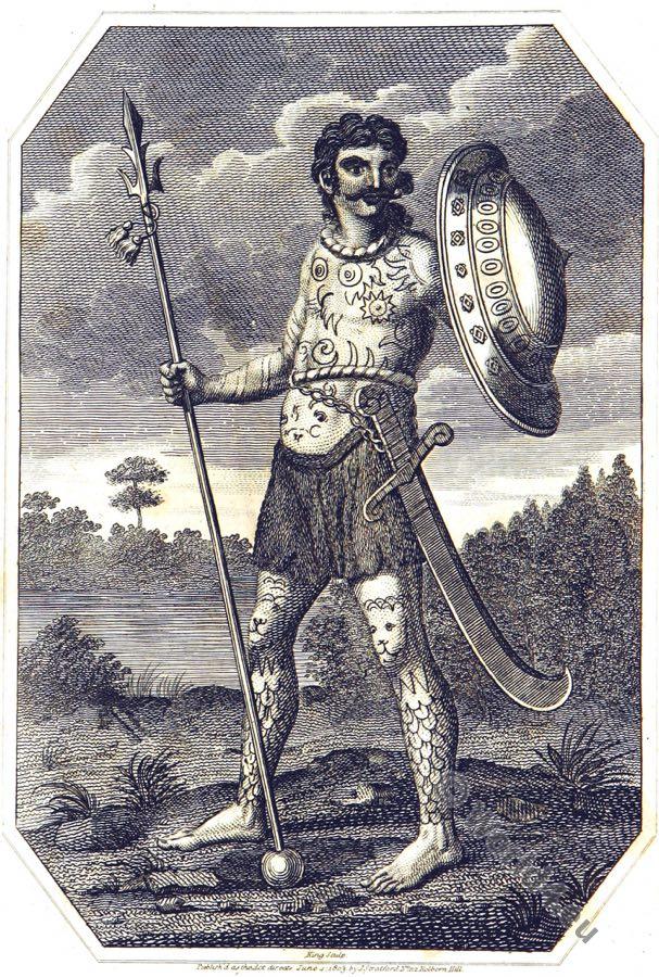 Celt, Ancient Britain warrior, Tattoo, Armour, Costume, savage, tribe, England