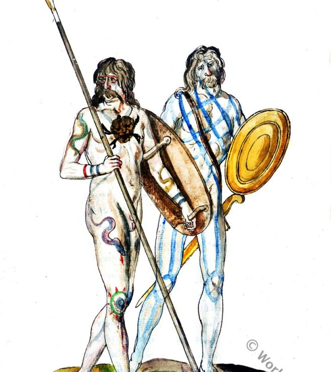 Ancient Britons. England Fashion History. Tribe. Celtic. Celts