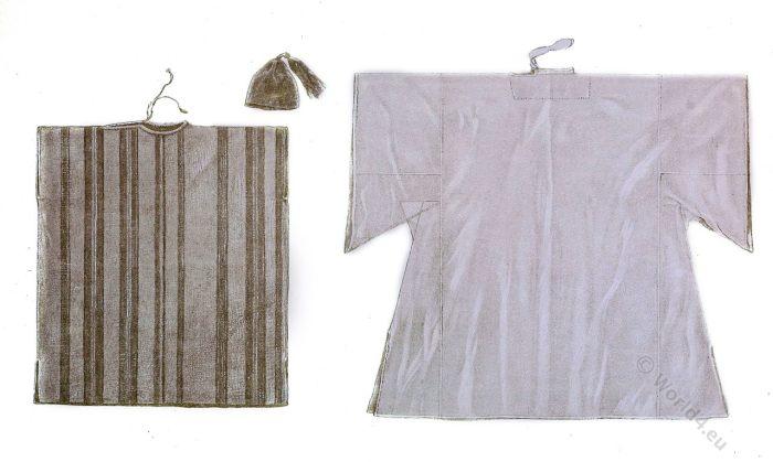 Kaftan. Farasia. North Africa, Marocco. Maghreb. Costumes. Clothing.