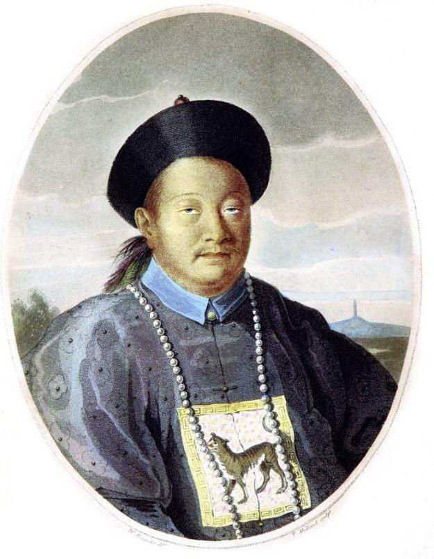 Chinese Mandarin, costume, Sir John Barrow,