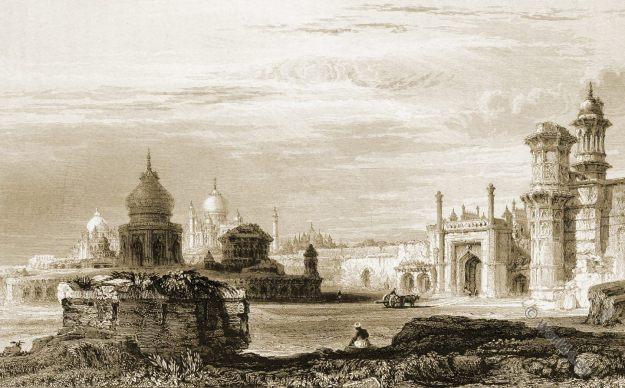 Taj Mahal, Agra, India. Mughal, architecture. Shah Jahan., Mumtaz Mahal