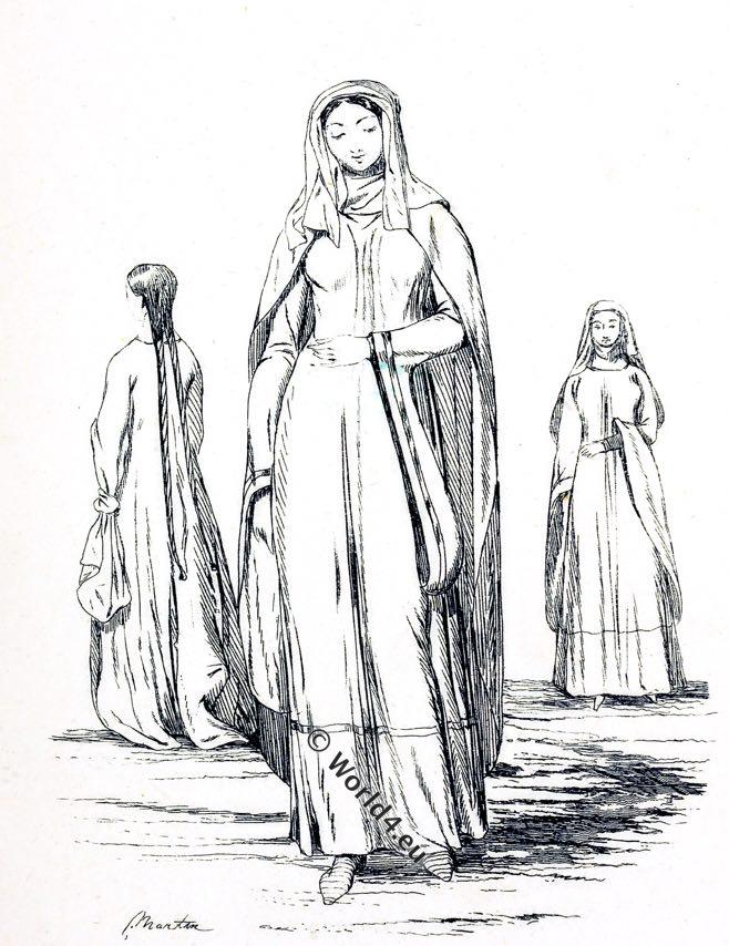 The Norman fashion period. England 1066-1154.