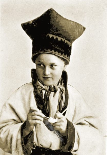 Lapp, Sami people, Laplanders, costume, norway, boy.