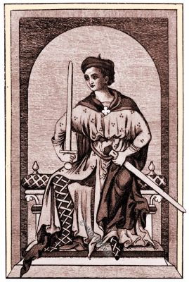 medieval England nobleman costume, 13th century, middle ages fashion,