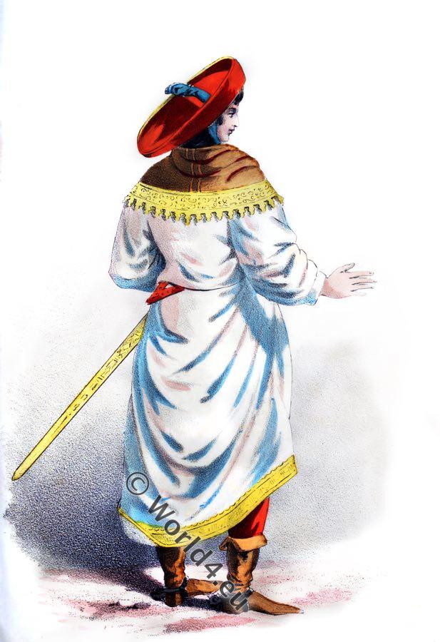 noble,costume,renaissance,15th century, dress,clothing,sword, sword-belt