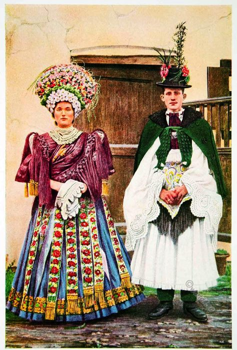 Hungary, Bridal, Costume, peasants, Wedding, Garments