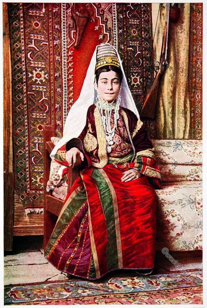Israel, Bethlehem, traditional, costume, near east, fashion, history,