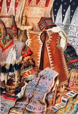 Malaysia, Indonesia, weapons, textil, fabrics design, ethnic, John Clark Ridpath,