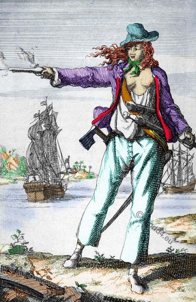 Anne Bonny, famous, female, pirates,