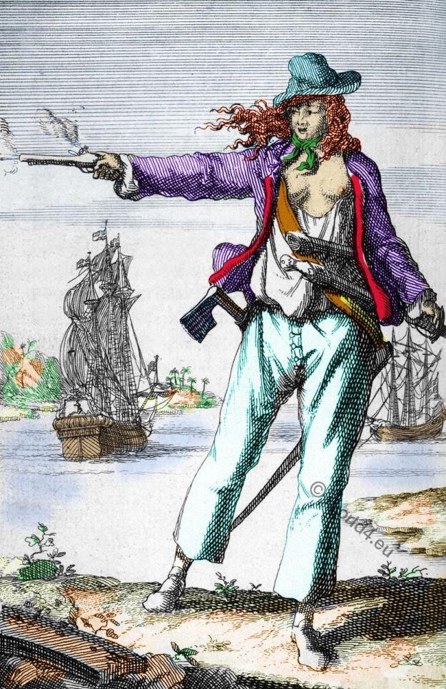 Anne Bonny, famous, female, pirates,