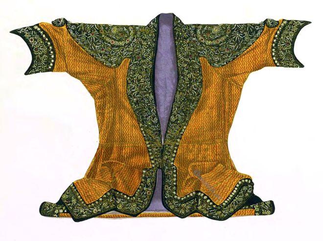 Maharaja, State, Coat, Brocade, India, Rajasthan