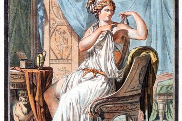 antiquity, Greek, woman, wearing , chiton, Strophion