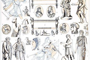 Costumes, Antiquity, Asia, Persia,