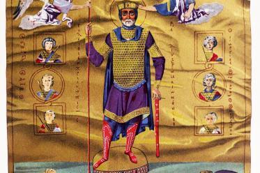 Basileus, Basilius, Grand, Imperial, Costume, Middle ages,