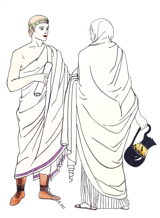Rome, toga, Early, Roman, costume, fashion, history, antiquity,