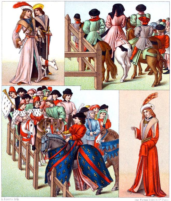 Costumes, Noblemen