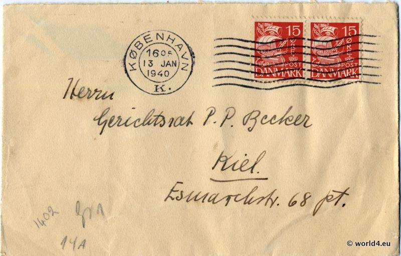 Censored Letter From The 2nd World War 1940 Lost And Found