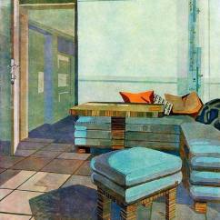 1930s Interior Design Living Room Traditional Decor By Max Safft Art Deco Lost And