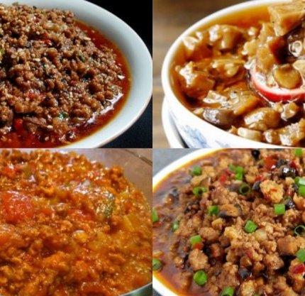 4種居家必備的肉醬做法,拌麵、拌飯、做菜都好吃