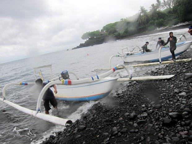 Tulamben Jukung dive Bali