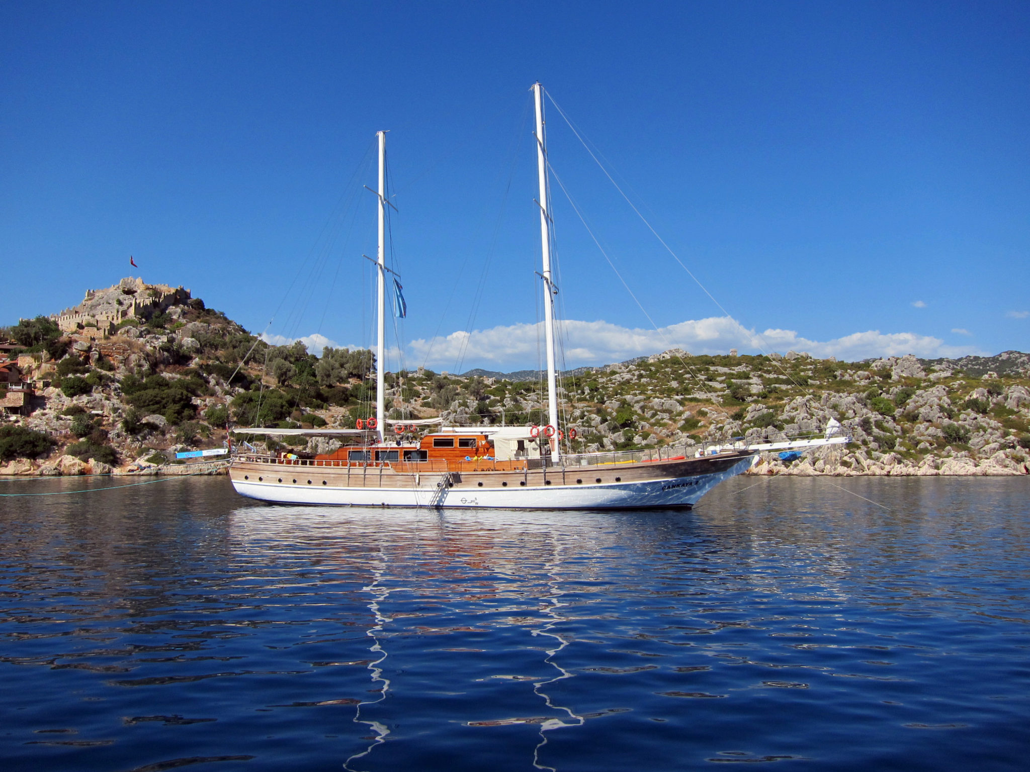 Kekova Island day cruise