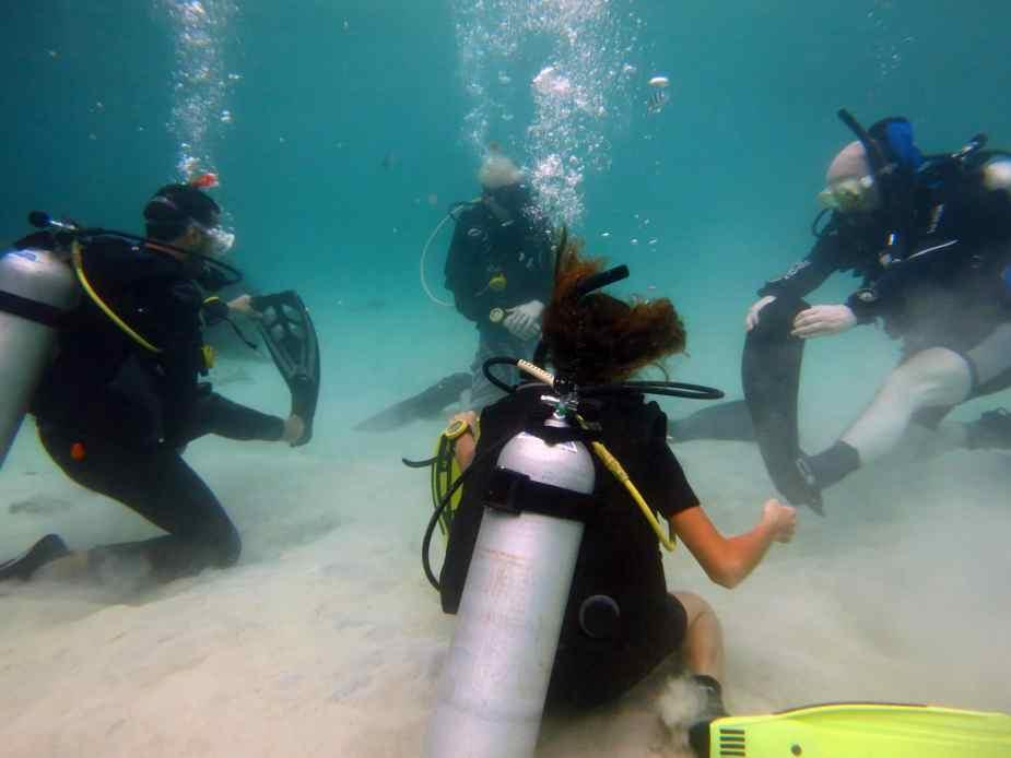 Rescue training Koh Tao