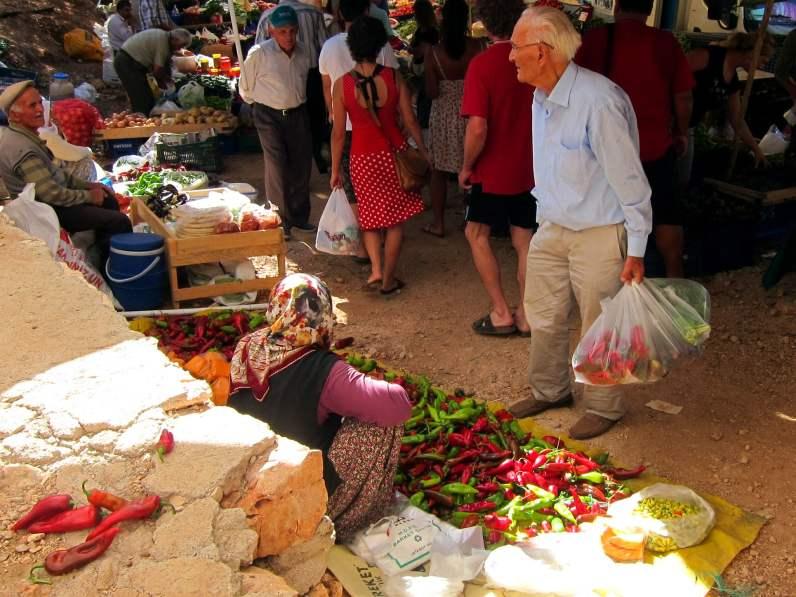 market Kas Turkey