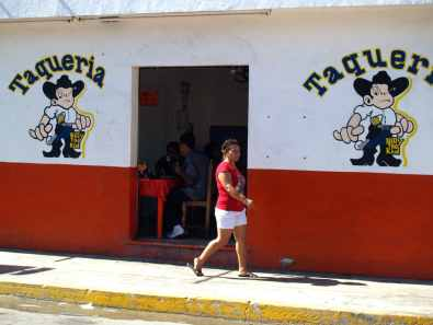 Tacos restaurant Playa del Carmen