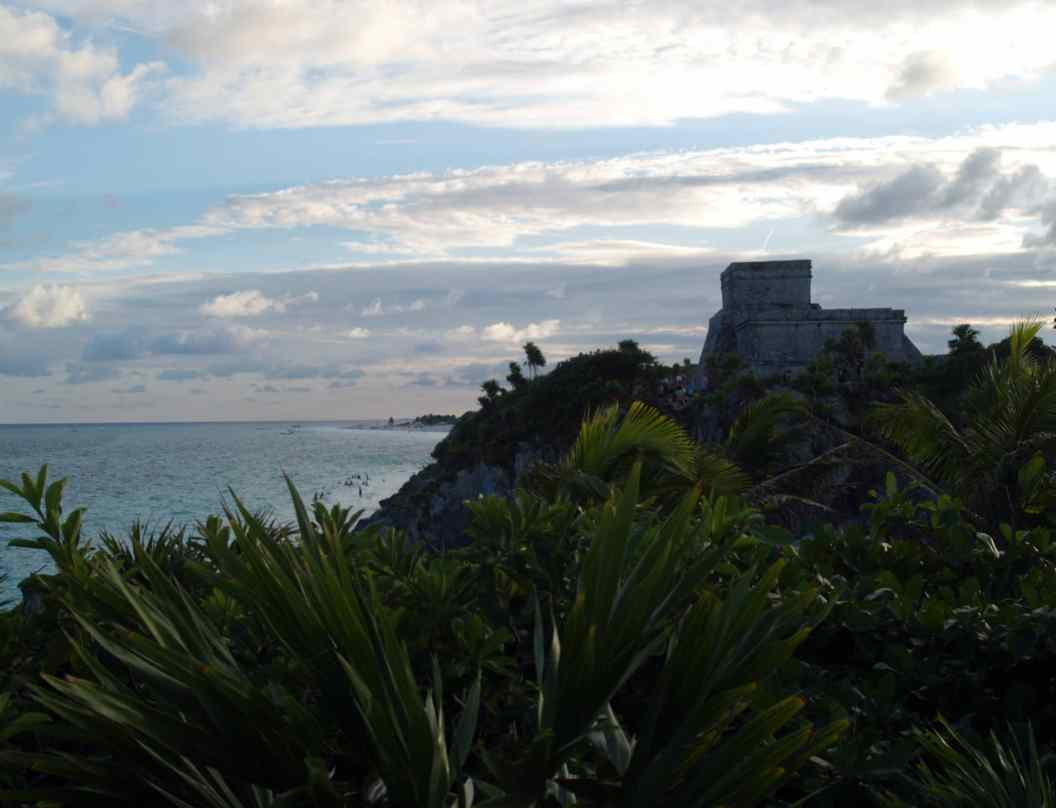 Tulum Maya ruins by the sea