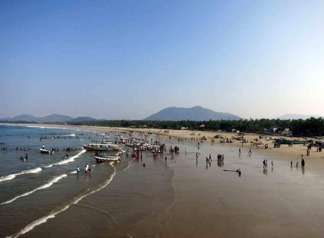 Murudeshwar beach india karnataka