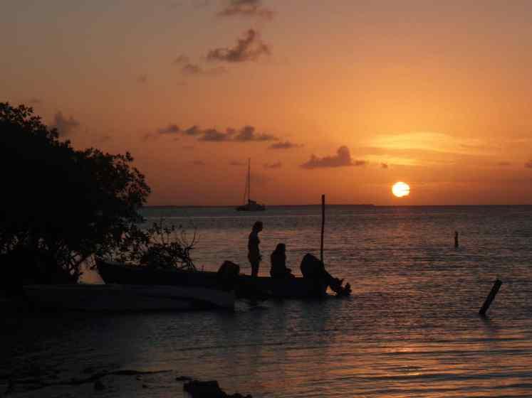Sunset Caye Caulker Belize