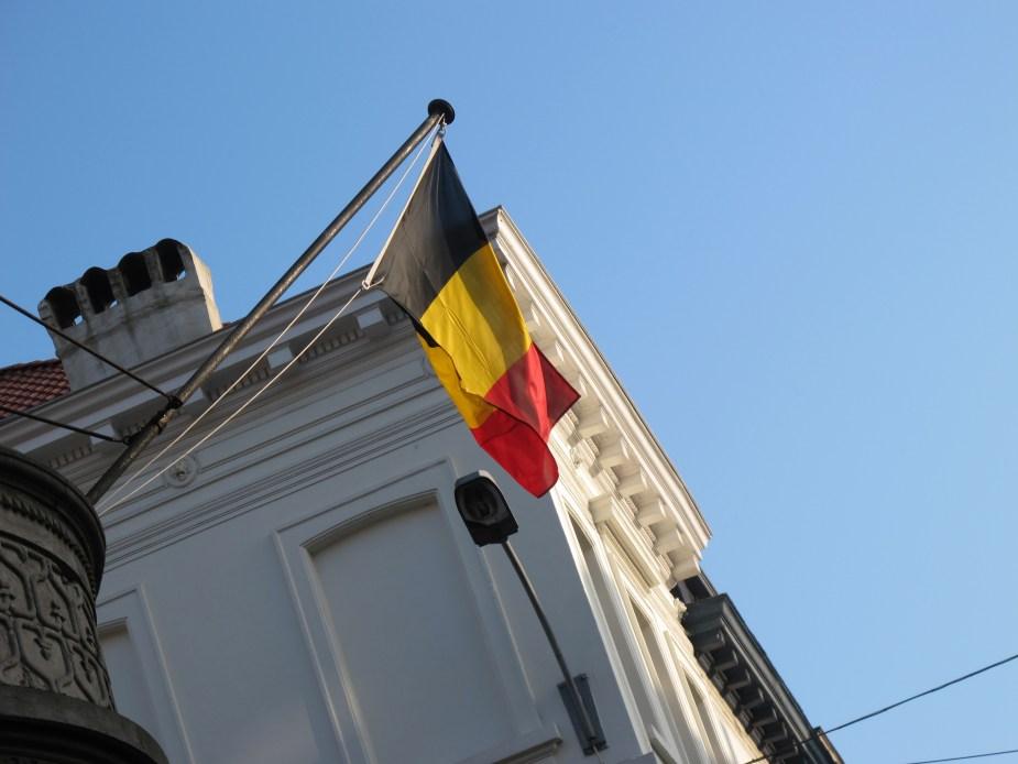 Belgian flag Brussels