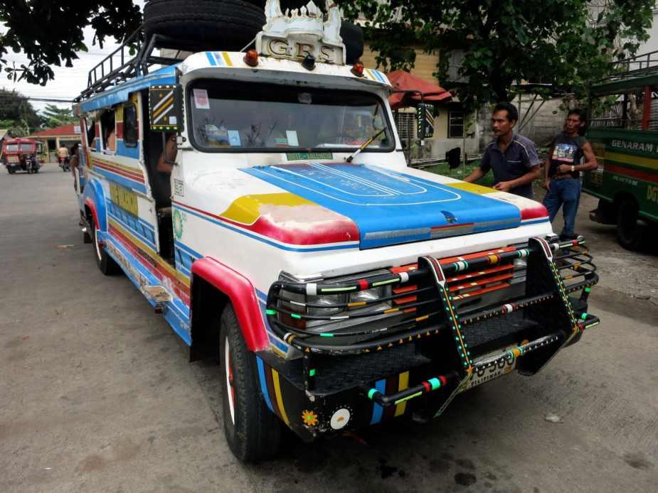 Jeepney Dumaguete Philippines