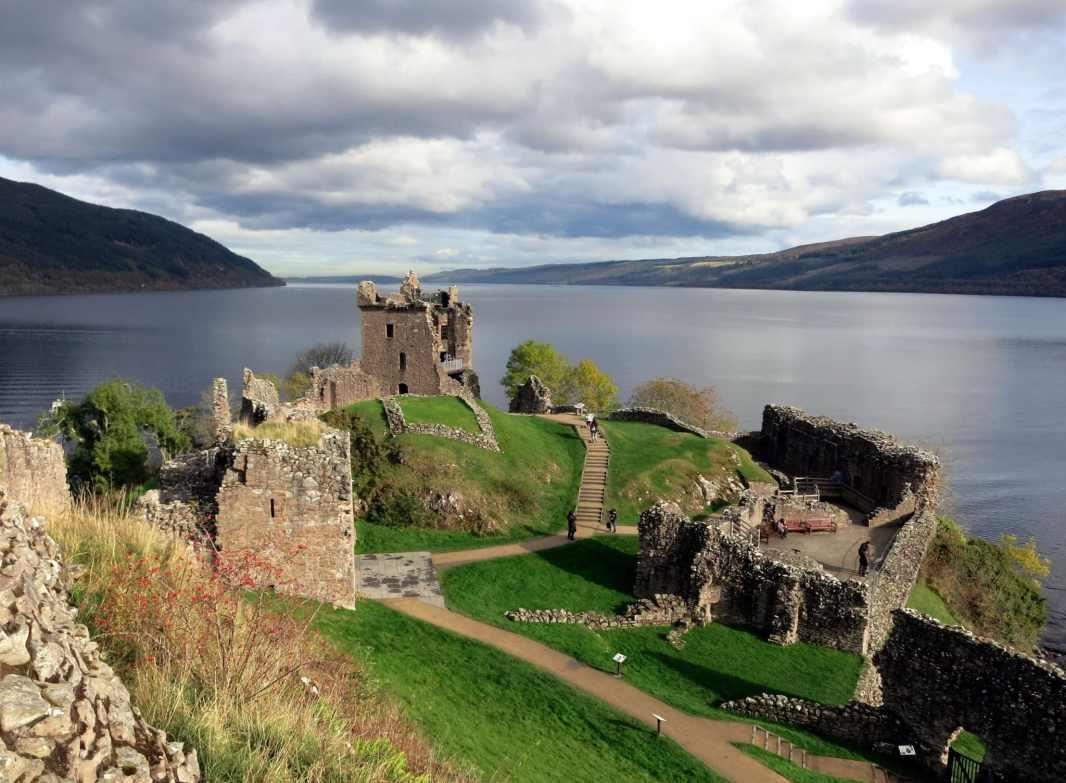 Urquhart Castle Loch Ness Drumnadrochit Highlands Scotland