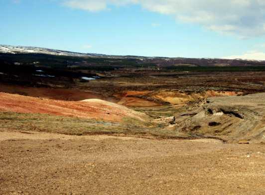 Geysir geothermal park Iceland