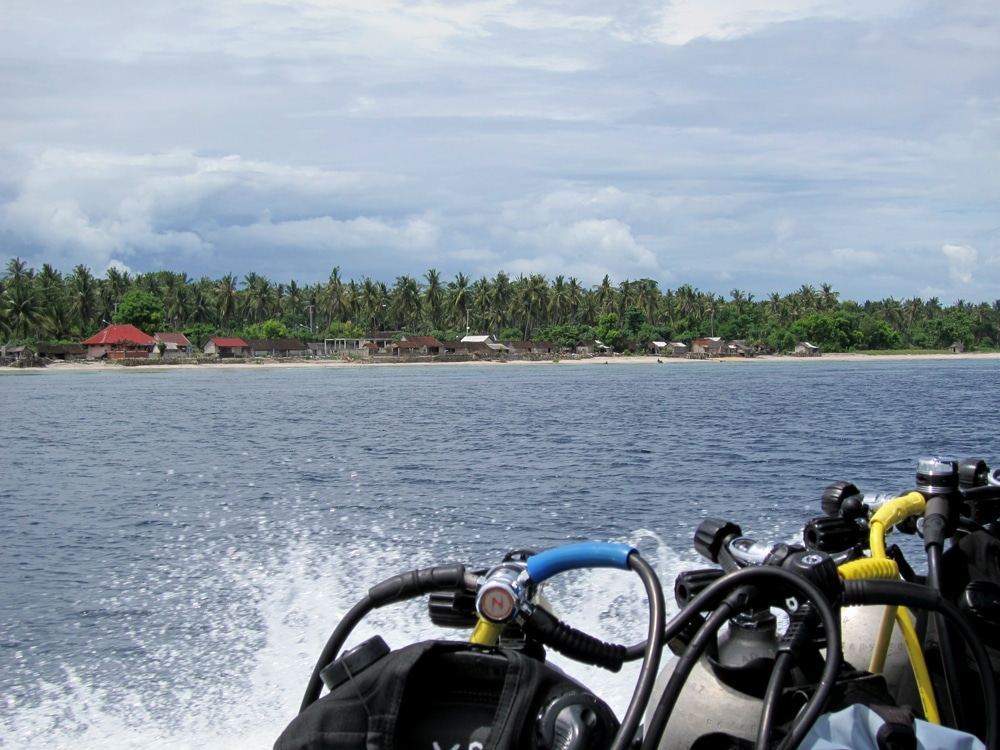 Scuba diving Nusa Penida from Sanur Bali