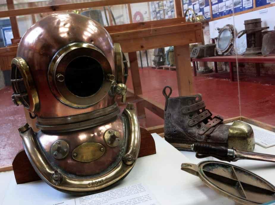 Lyness museum Hoy Island Scotland