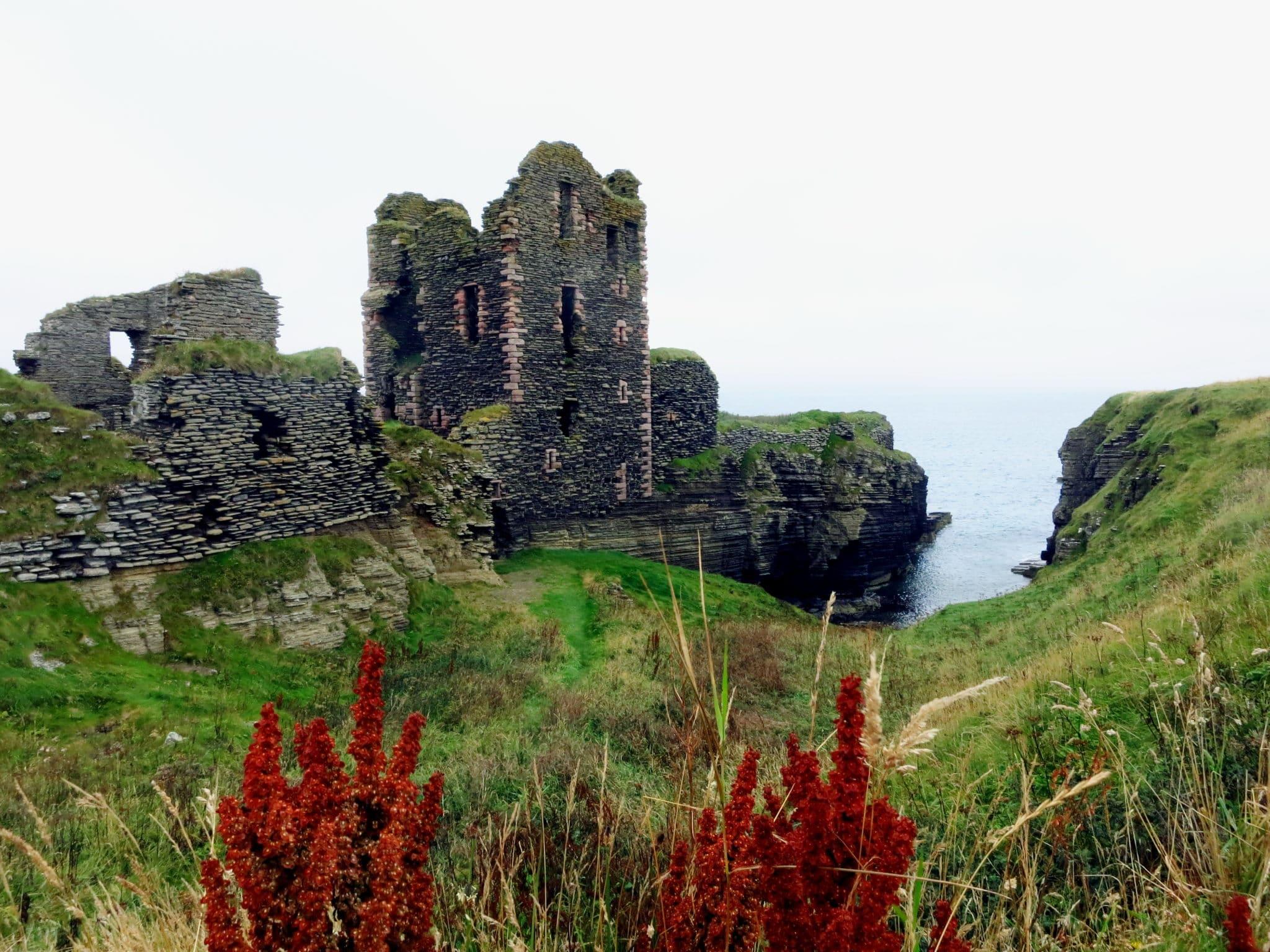 Sinclair Caste Wick Caithness Highlands Scotland