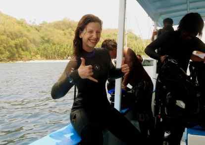 Scuba diving Crystal Bay Nusa Lembongan Bali Indonesia