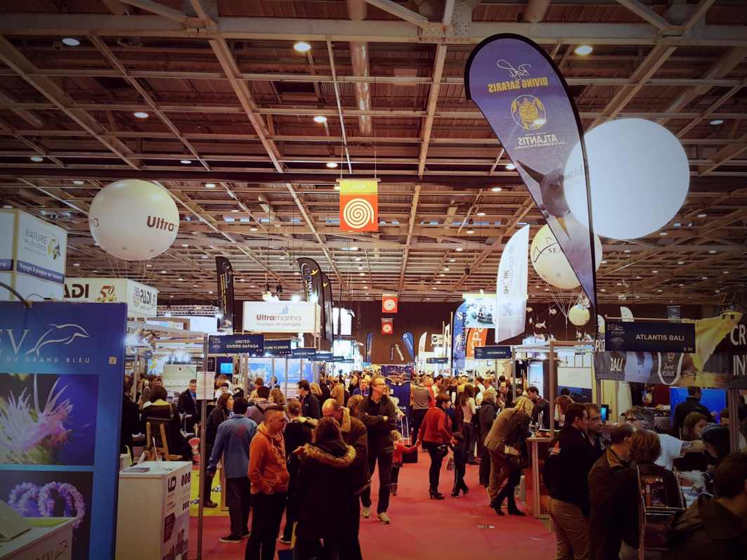 Paris Dive show Salon de la plongée 2016