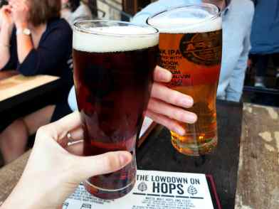 Brewdog Bar Glasgow Scotland