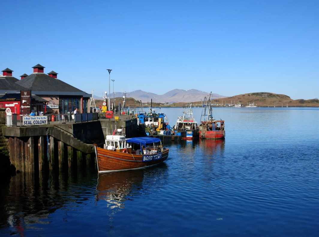 Oban Pier Ferry Terminal Scotland