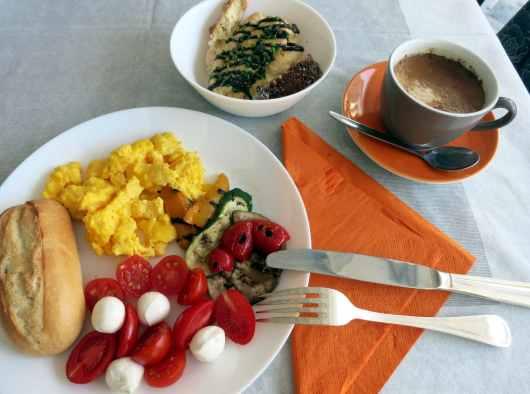 breakfast sestri levante