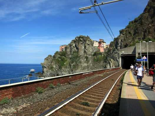 Monterosso Train Station Cinque Terre Italy