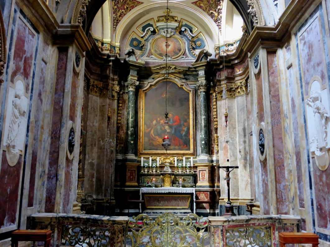 St Paul's Shipwreck Church Valletta Malta
