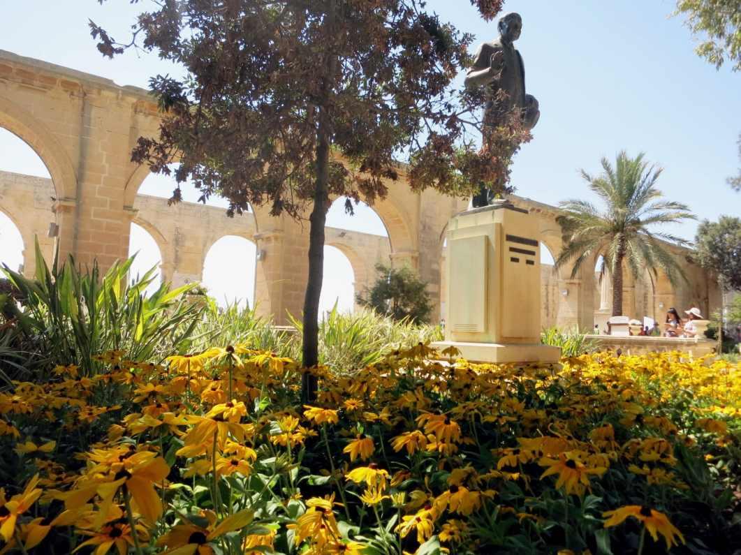 Weekend in Valletta Upper Barraka gardens Malta