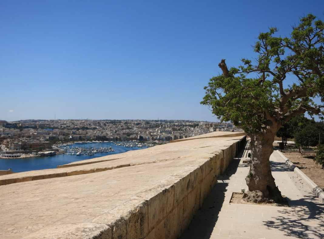 Hastings gardens Valetta Malta